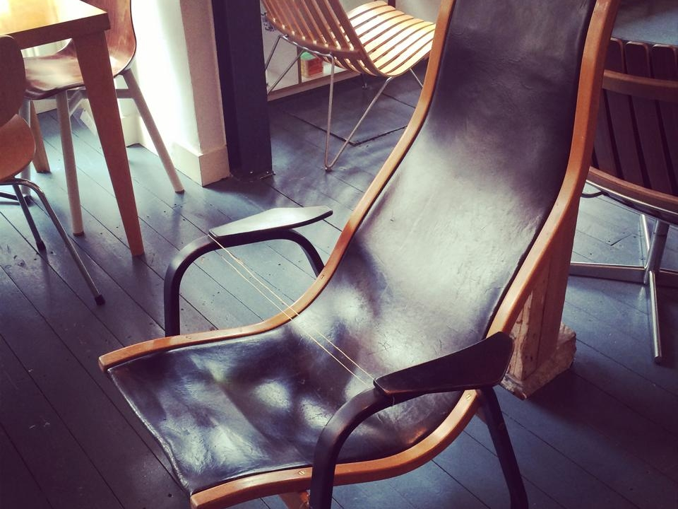 NEW! instore; A Very Rare Vintage Danish Design Chair