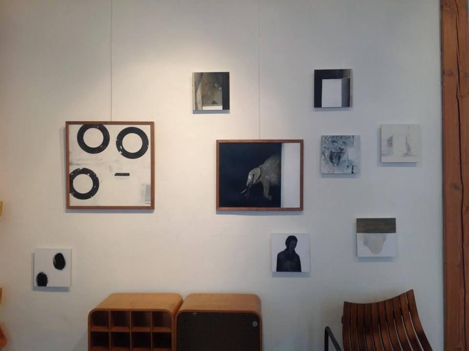 Jeroen Blok in between exhibition January 2015