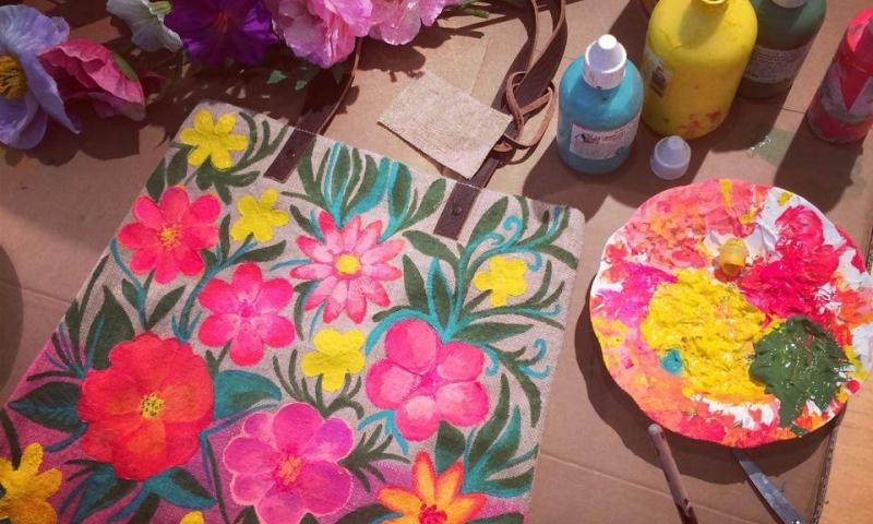 EAH! Flowers Paradise, Summer Flower bags 2014