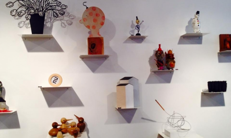 The Wall of Little Wonders at WonderWood Amsterdam