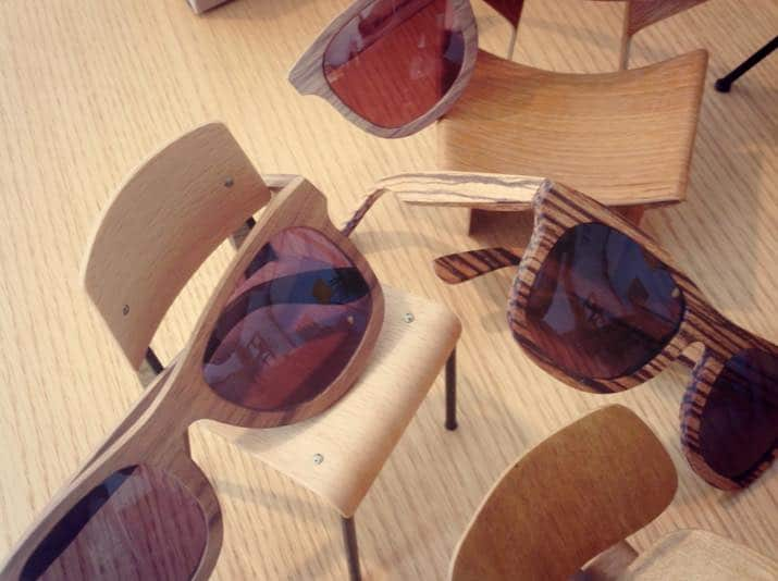 New Instore Wood'n sun sunglasses.