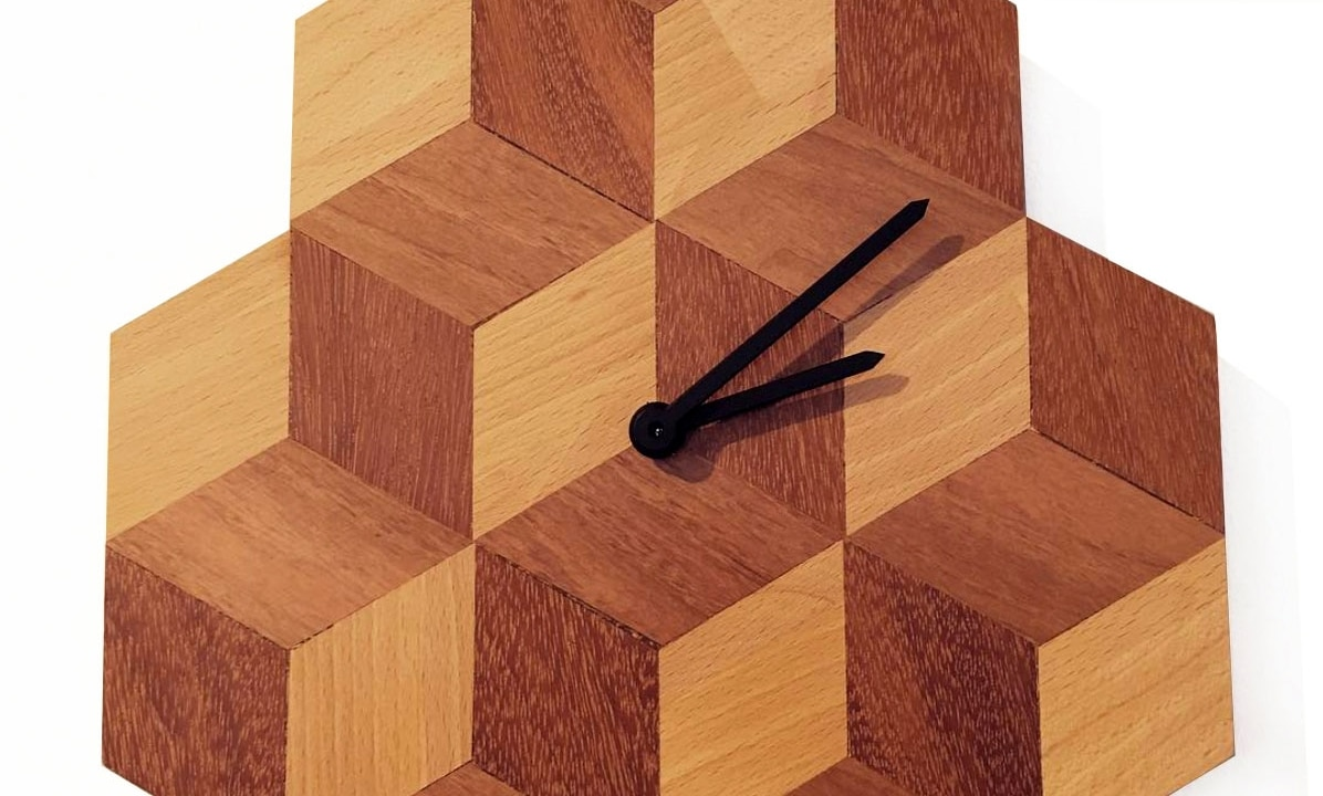 NEW! wooden design clocks!