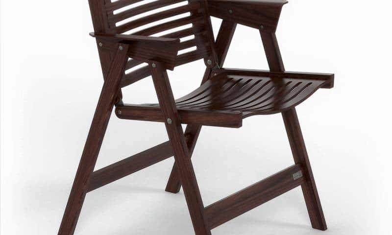REX Folding chairs NOW at WonderWood Amsterdam