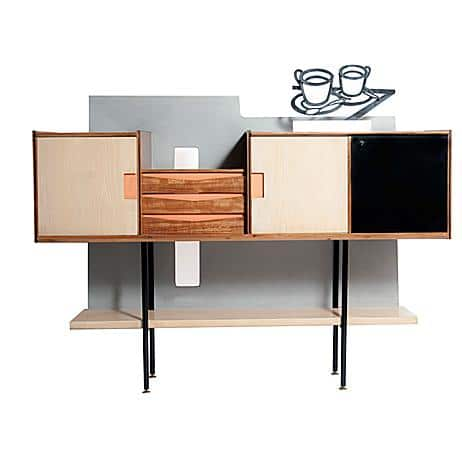 Sneak Peak of  Vintage Dressoir in style of Gio Ponti