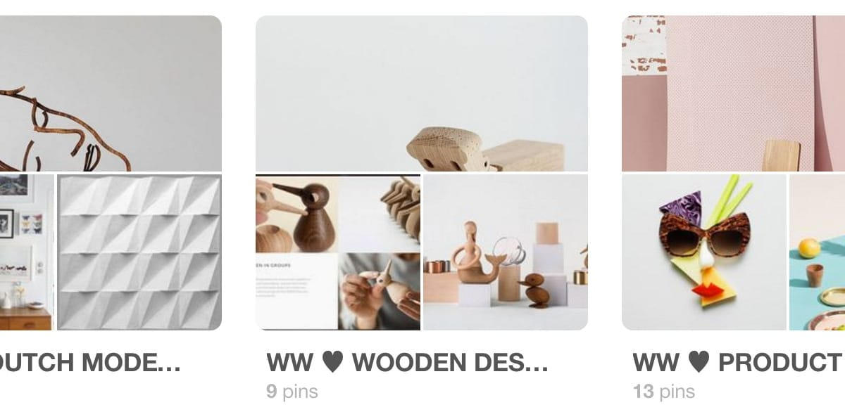 WonderWood at Pinterest