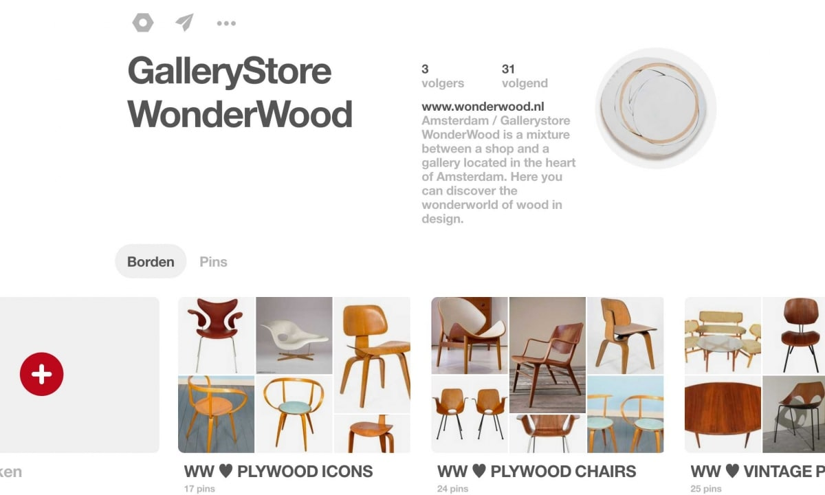 WonderWood Pinterest