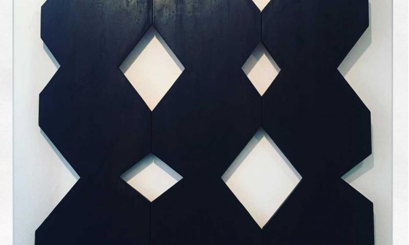 Instore exhibition Simon Oud