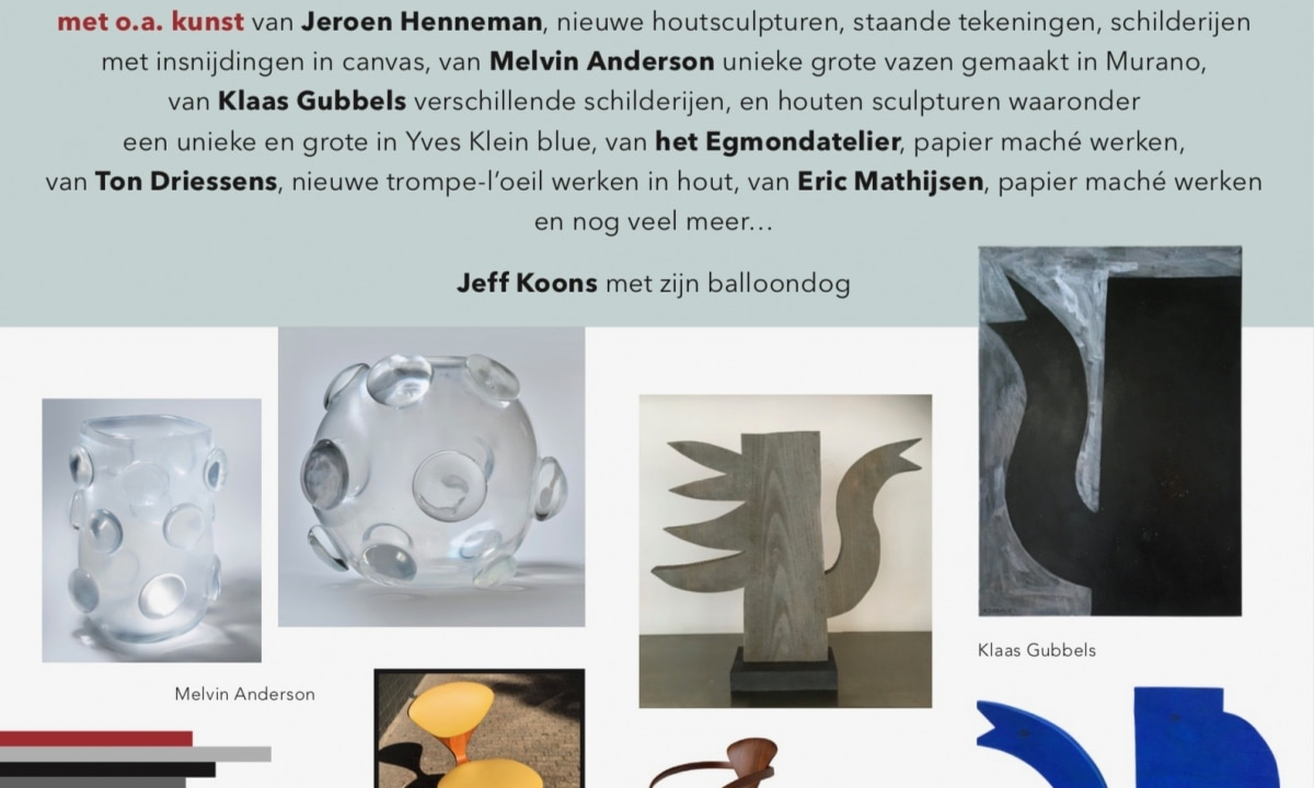New work by Jeroen Henneman, Klaas Gubbels and more…